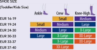 eur kids shoe size
